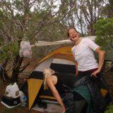Irene tenting