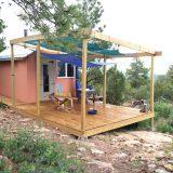 Ravenrock Rim Cabin deck