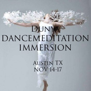 Dancemeditation Immersion: Nov in Austin