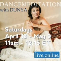 Dunya Spring Dancemeditation Live Online