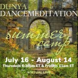 Dunya Dancemeditation Summer Live Online