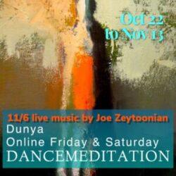 Dunya Dancemeditation Deep Fall Series